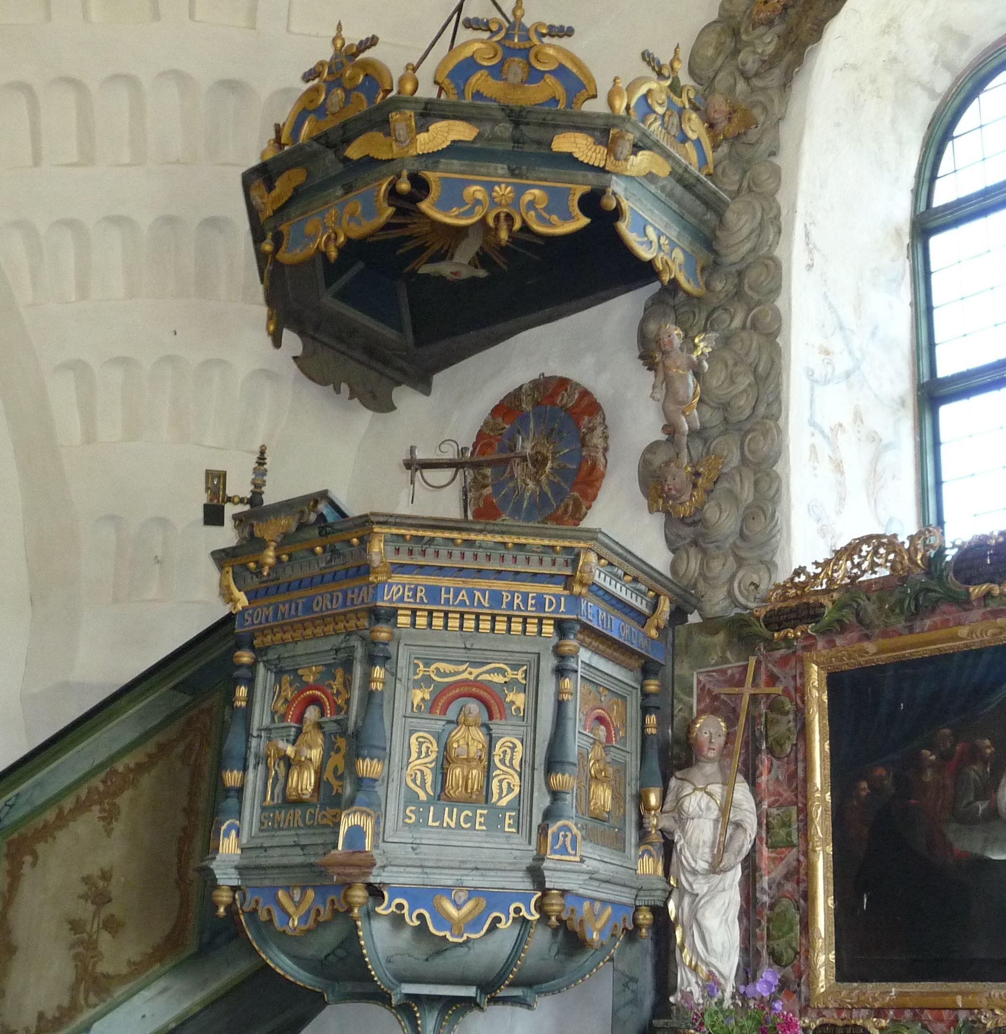 Gamla kyrkan i Trönö