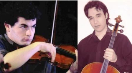 Concert de musique classique piano et violon le vendredi 17 août à l'église de Guéthary à 21h15