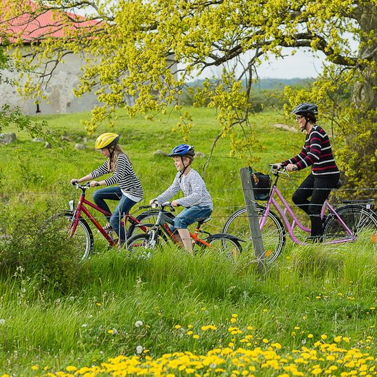 Fotograf: Sven Persson/swelo.se, Cycling in and around Kristianstad