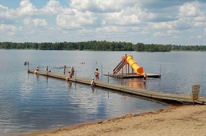 Osbysjön - badplats