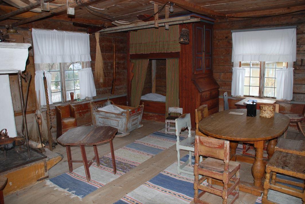 Nordingrå hembygdsgård inomhus