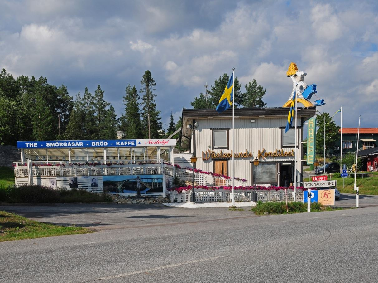 Foto: Rebecka Ekvall,  © Kramfors kommun, Wästerlunds konditori