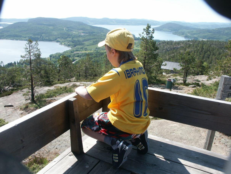 © Kramfors kommun, Skuleberget toppen
