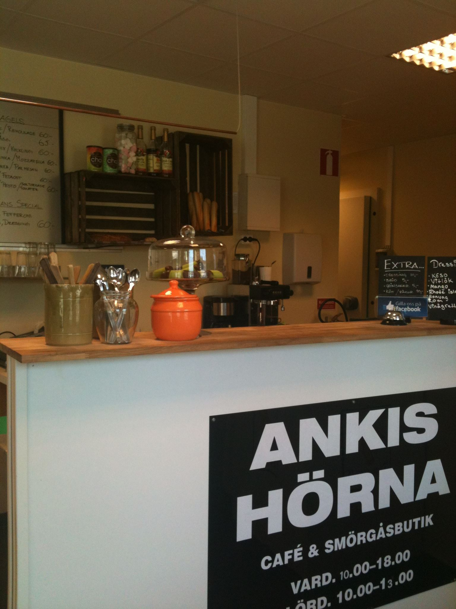 Turistbyrån, Ankis Hörna