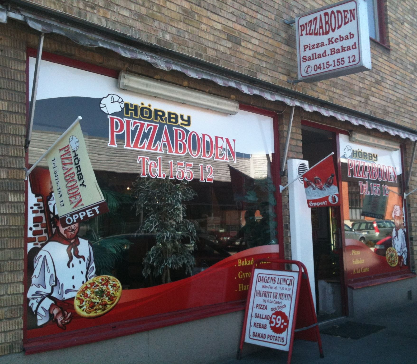 Turistbyrån, Pizzaboden