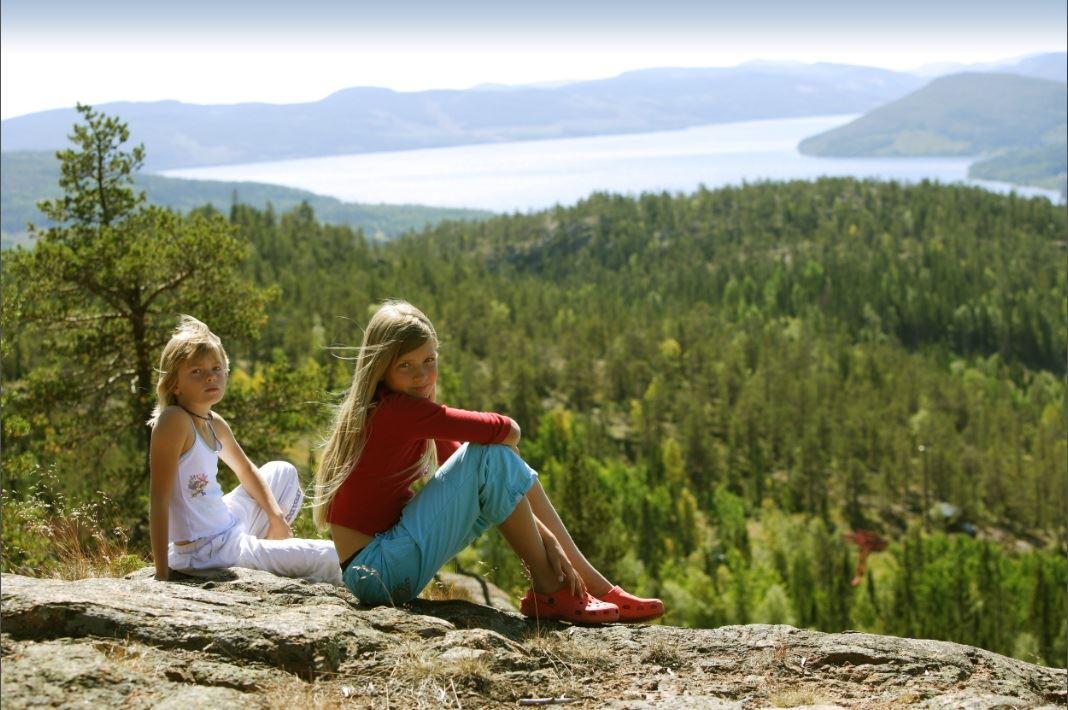 Foto: Pelle Nordlander,  © Kramfors kommun, Utsikt från Skuleberget