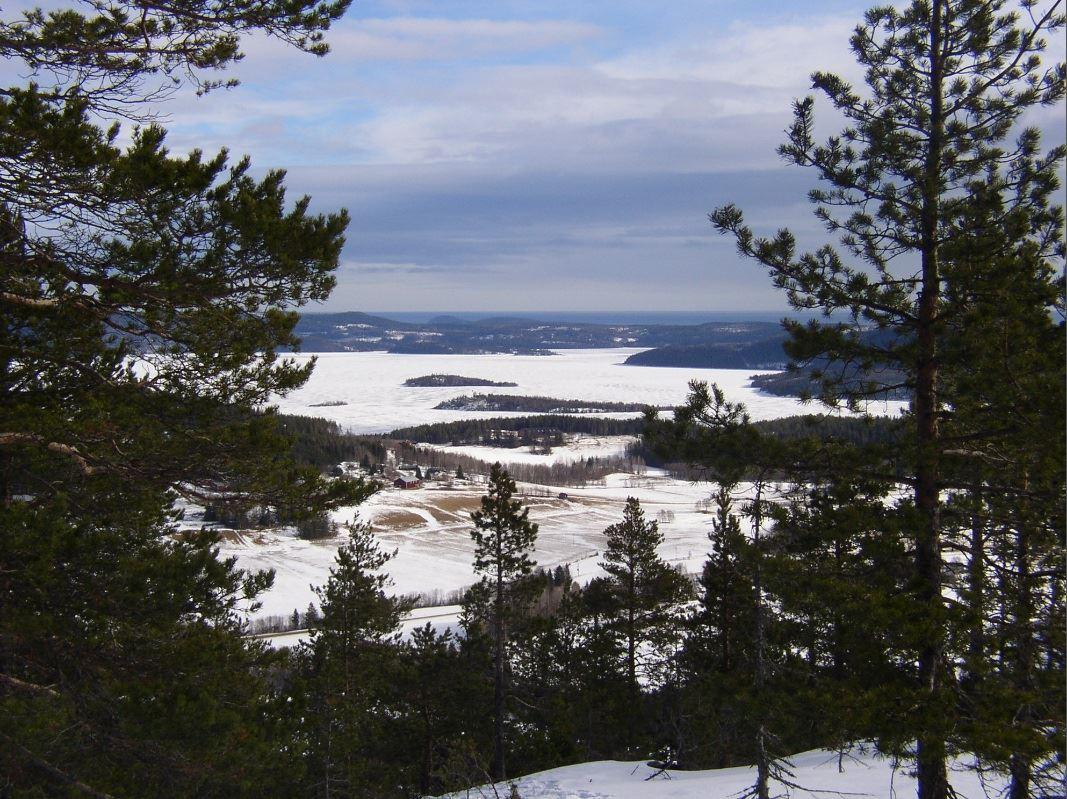 © Kramfors kommun, Vy från Lidenipan