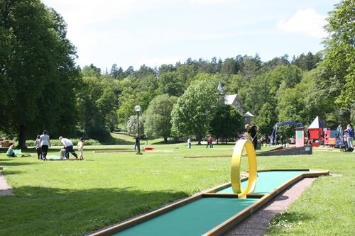 Miniature golf in Ronneby Brunnspark