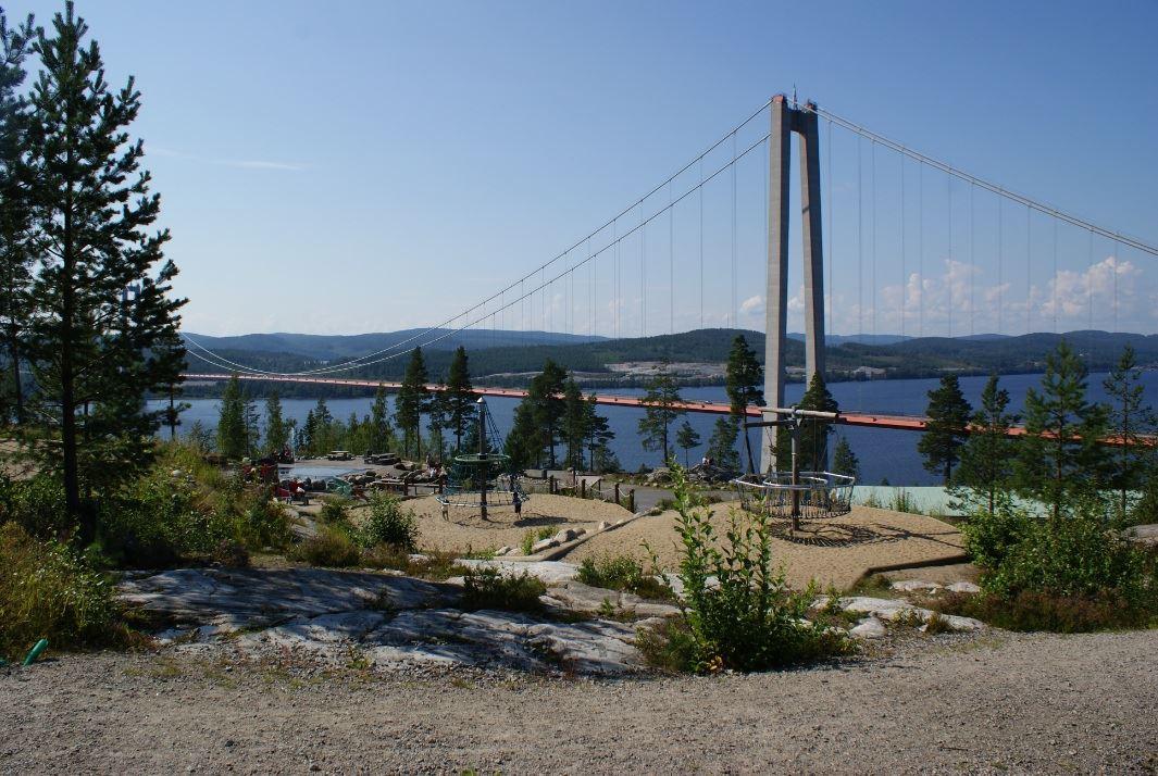 © Kramfors kommun, Vy från Hornöberget