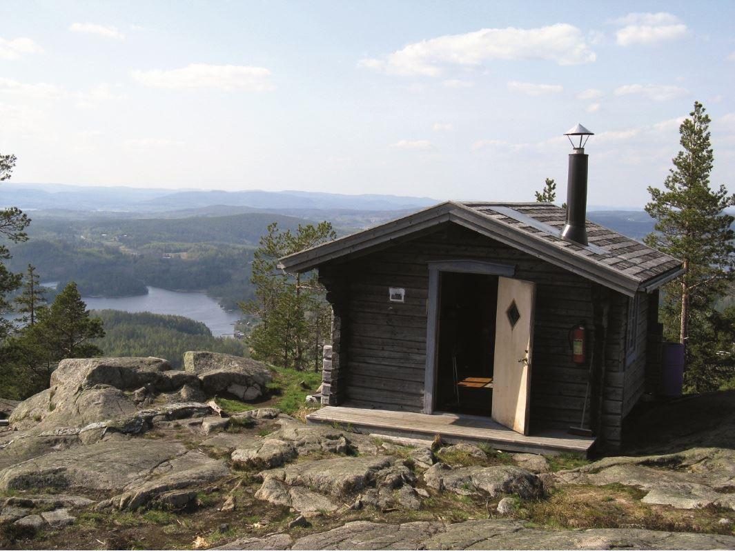 © Kramfors kommun, Raststuga på Valkallen