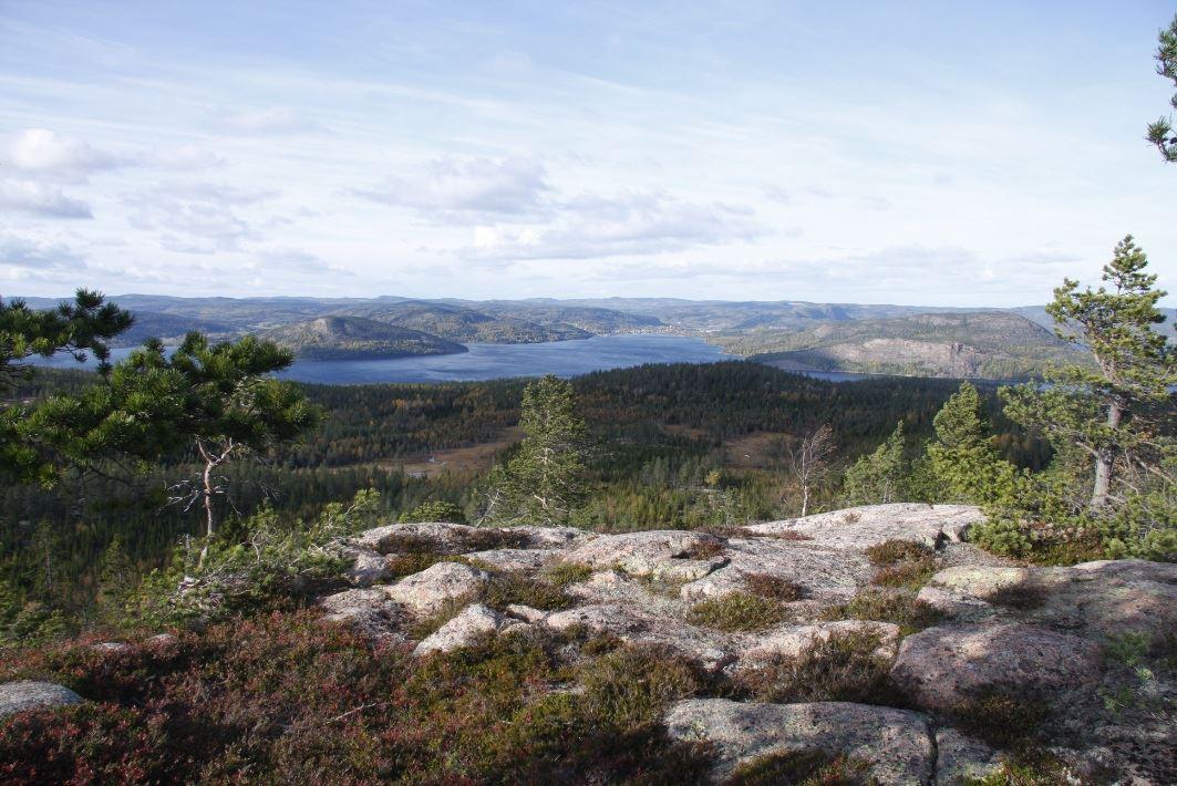 © Kramfors kommun, Vy från Högklinten