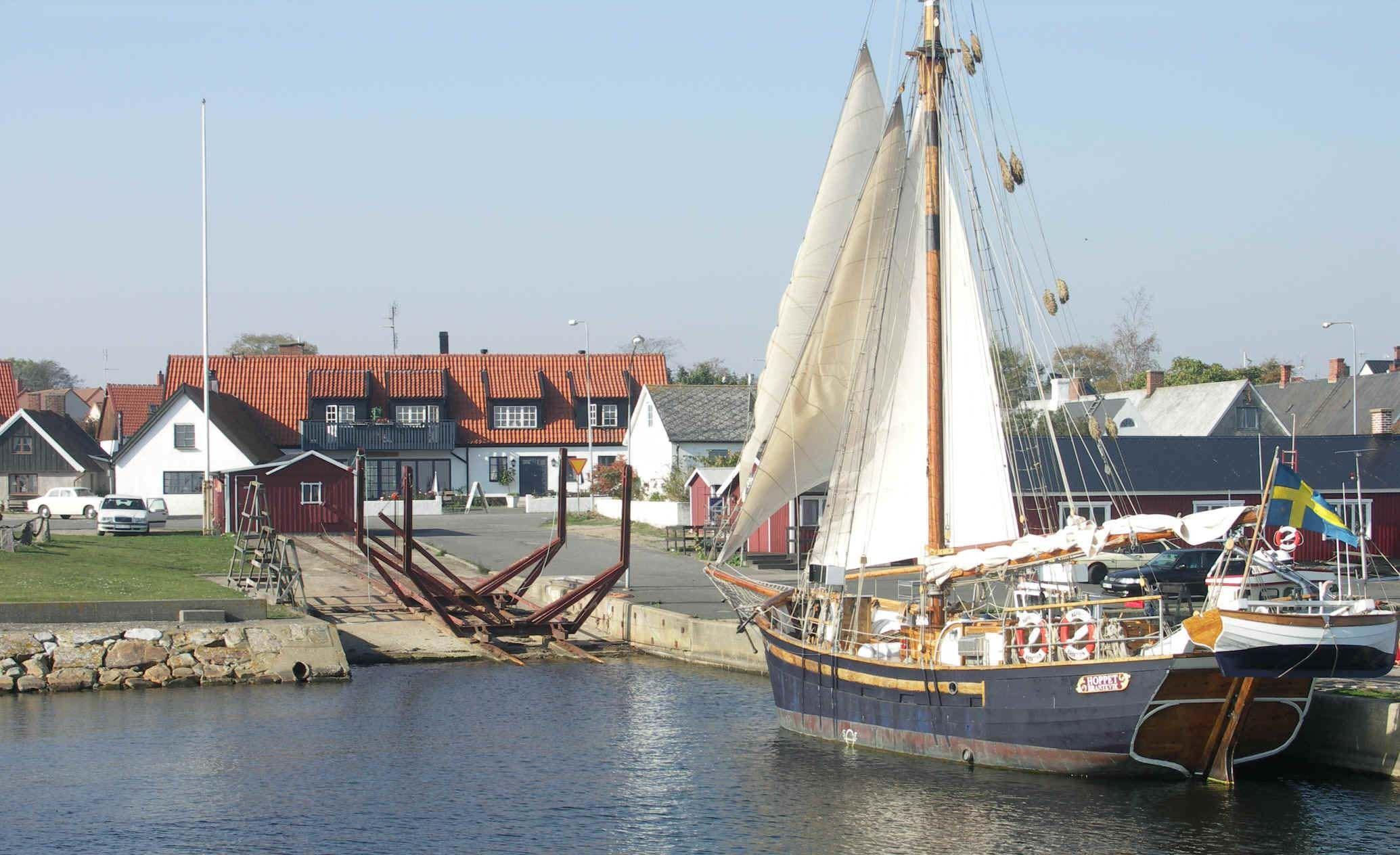 Hamngården i Brantevik