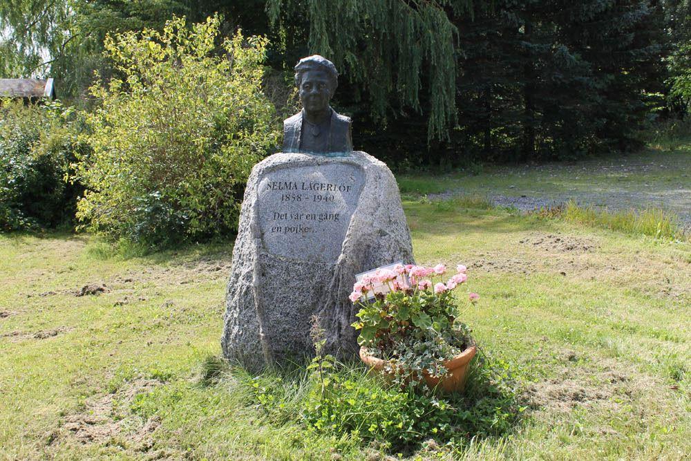 Birgitta Nilsson, Selma Lagerlöf-byst