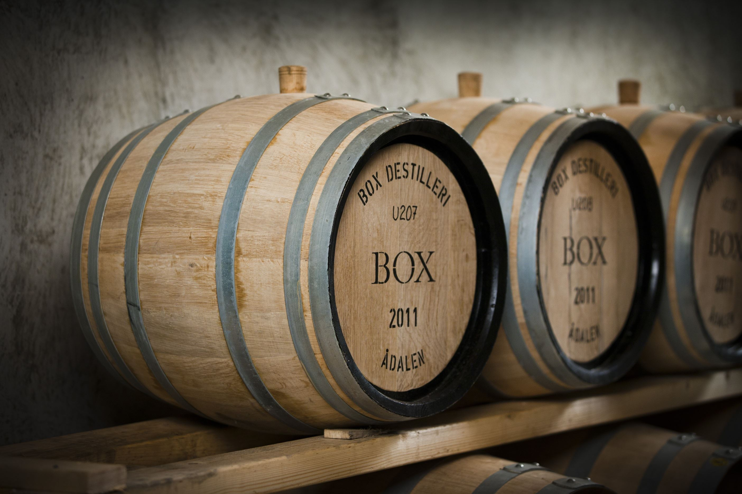 Box Whisky Destilleri