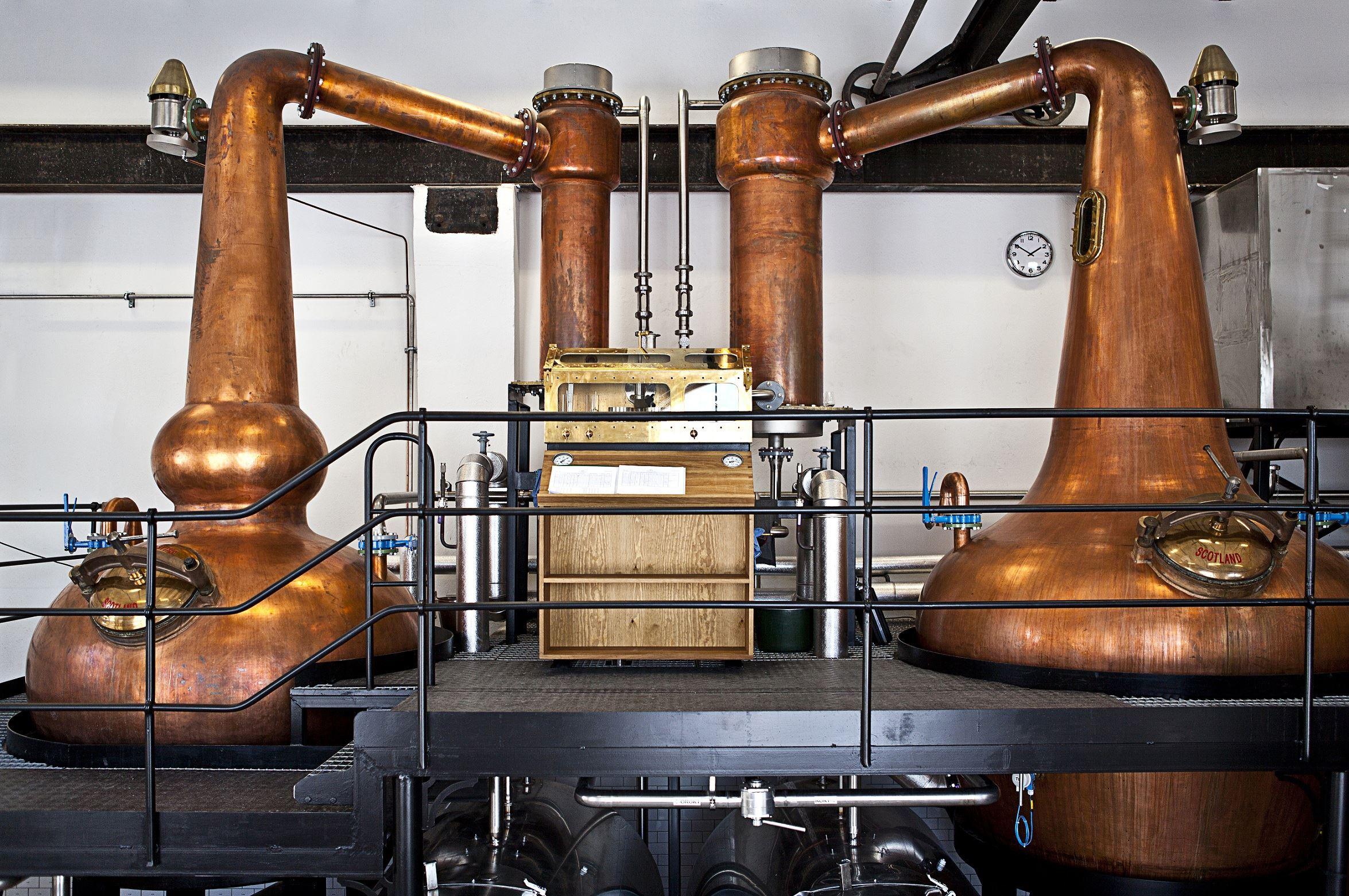Guidad tur på Box Whisky Destilleri