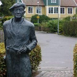 Fritiof Nilsson Piraten statue