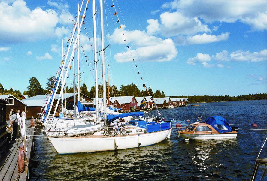 Båtturer i Mellanfjärden