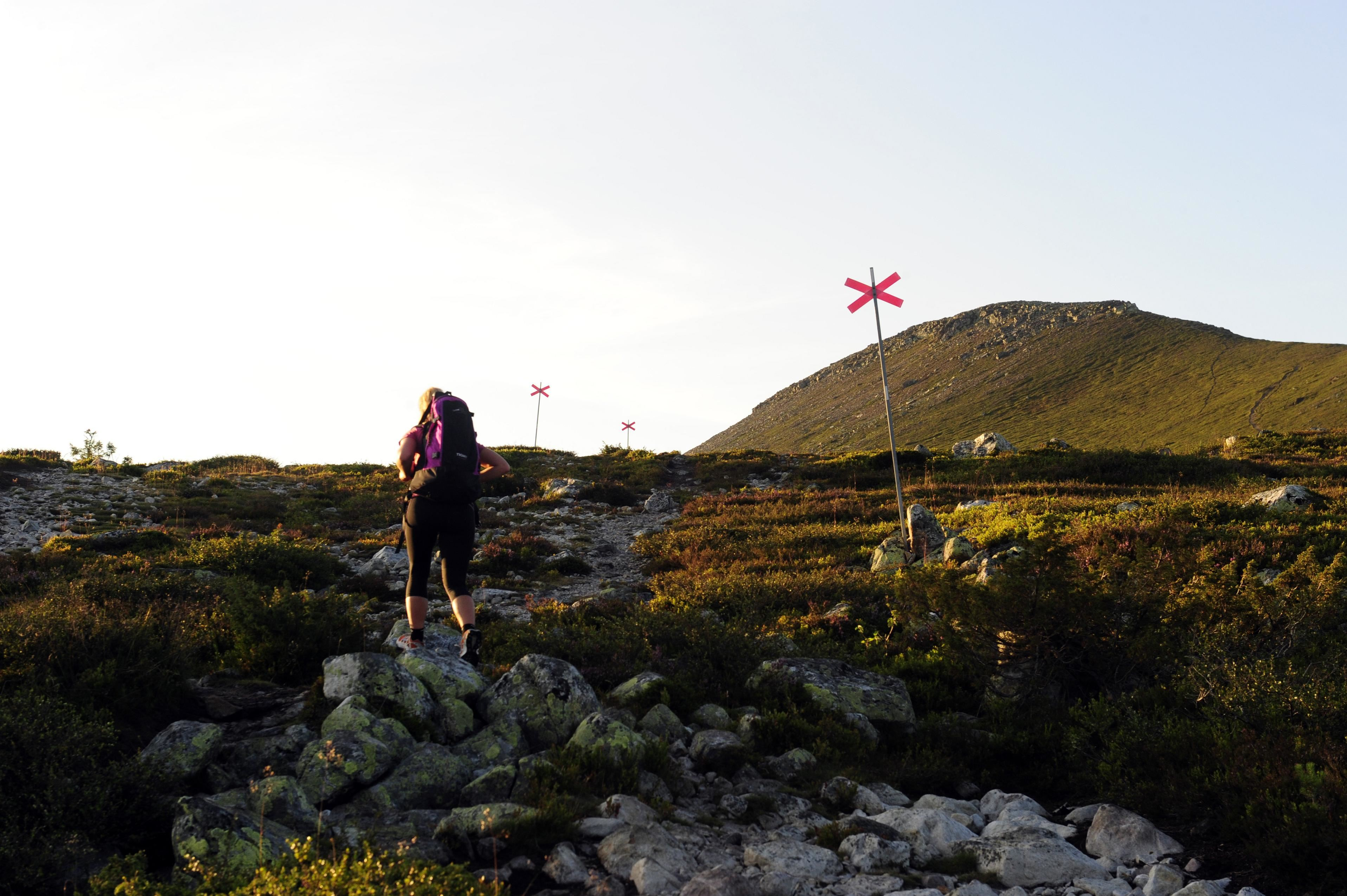 A hike to Städjan's Peak