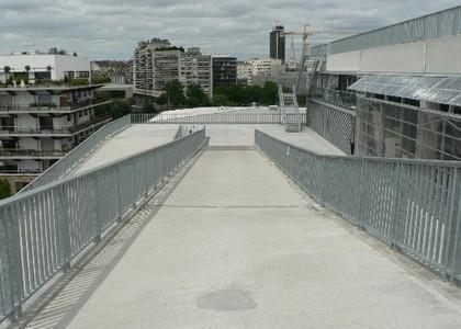 Terrasse panoramique de l'Ecole Nationale Supérieure d'Architecture