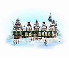Jul på Wrams Gunnarstorps slott