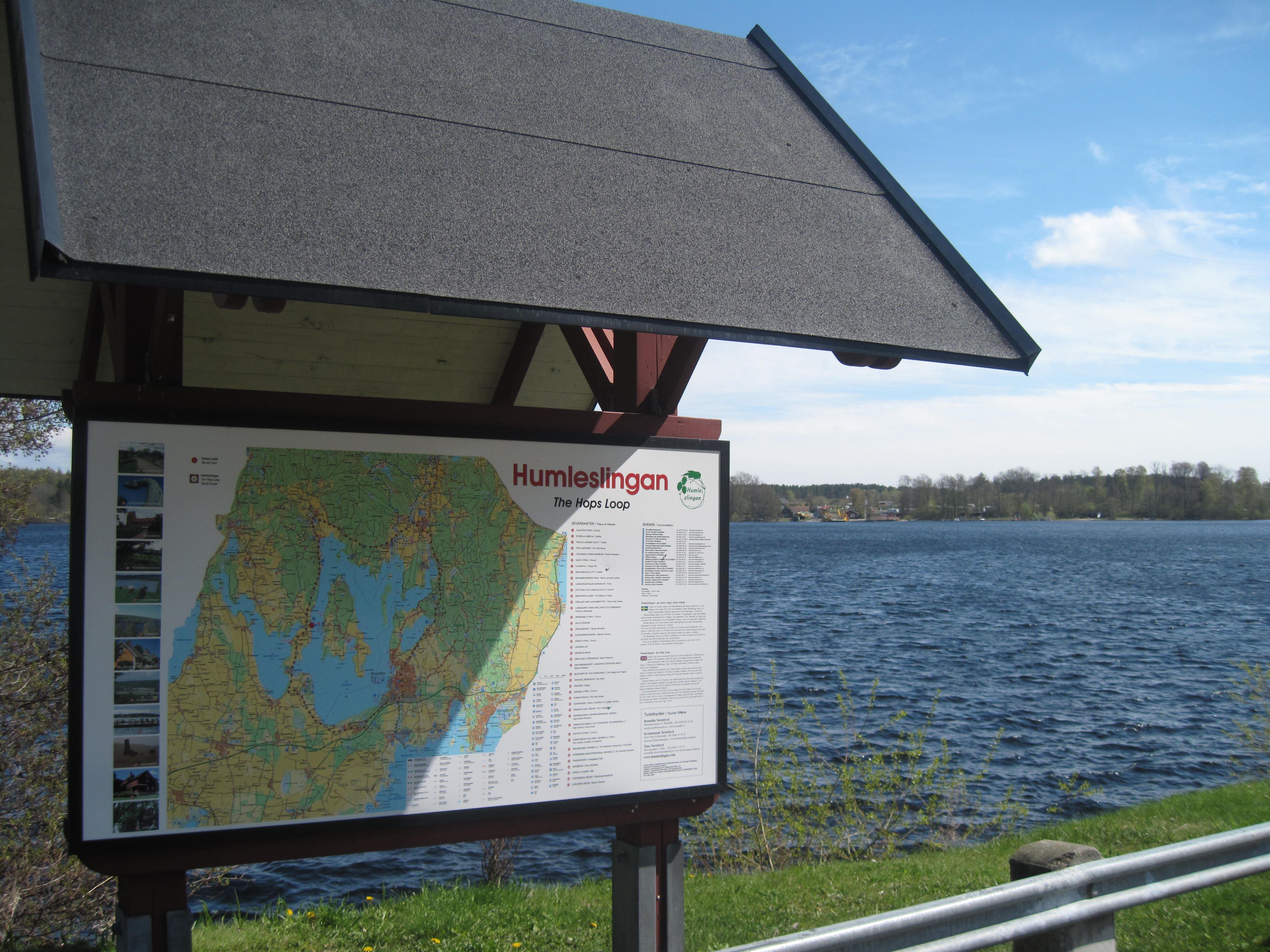 Humleslingan - turist-ruten rundt om Ivösøen