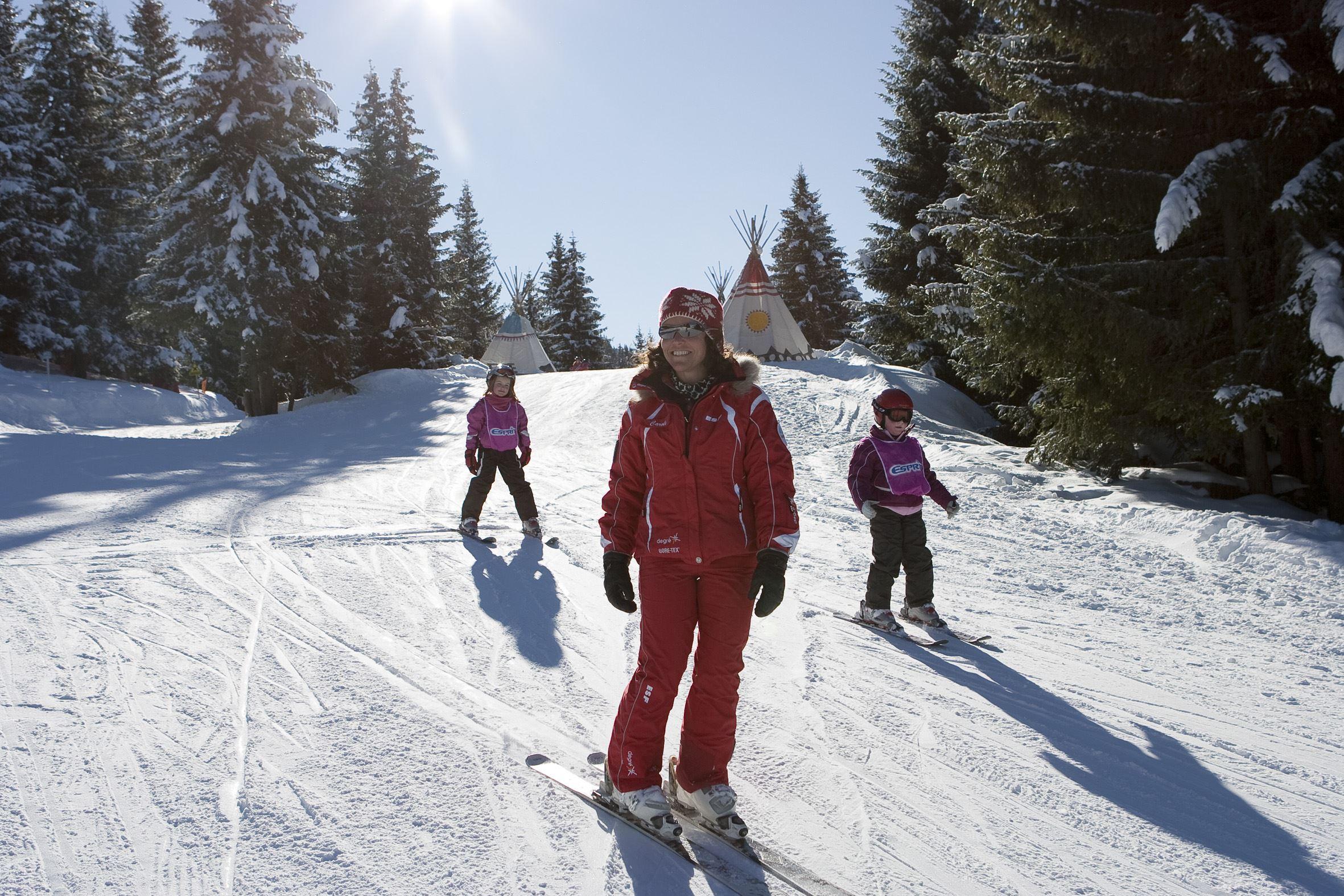 ESF: Ski lessons