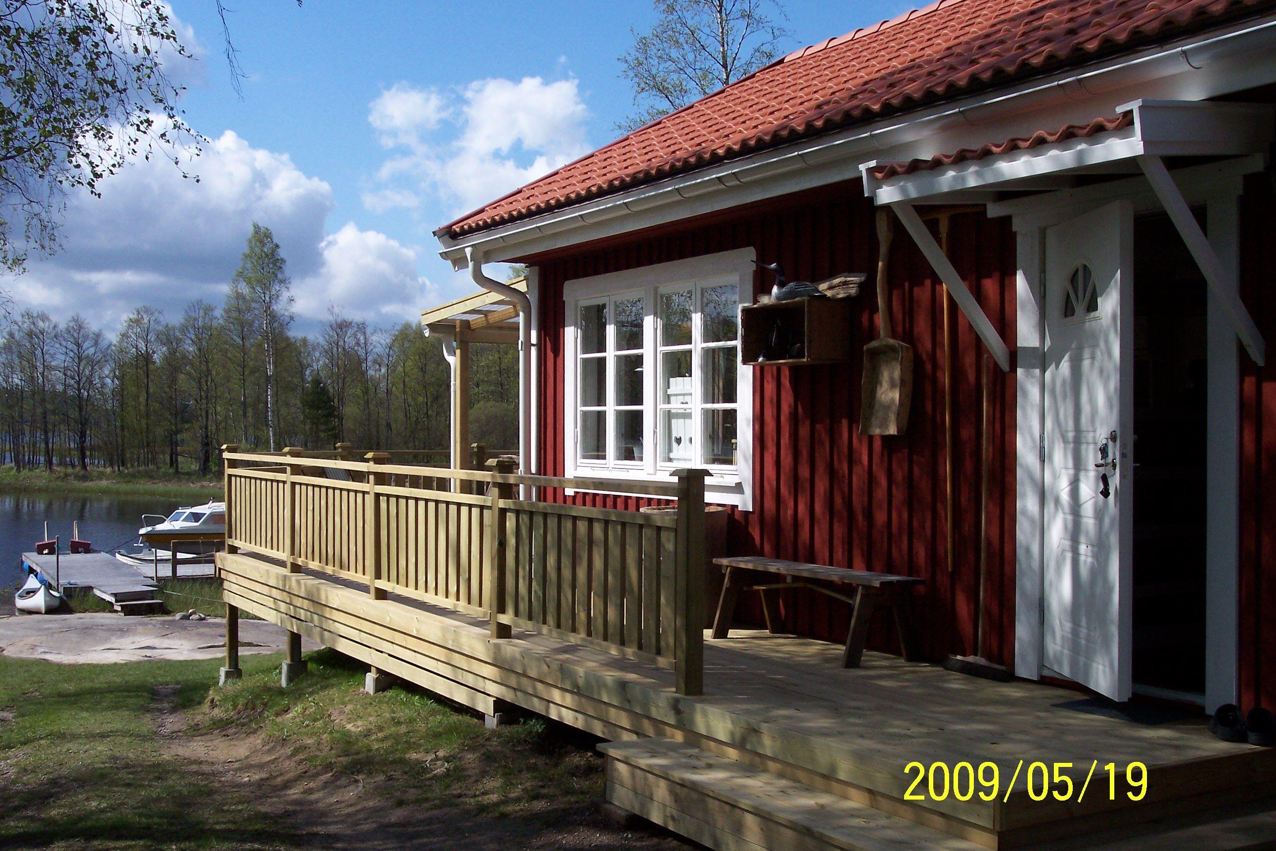 DED124 Sjövik-Härligt sjöläge vid Kornsjön.
