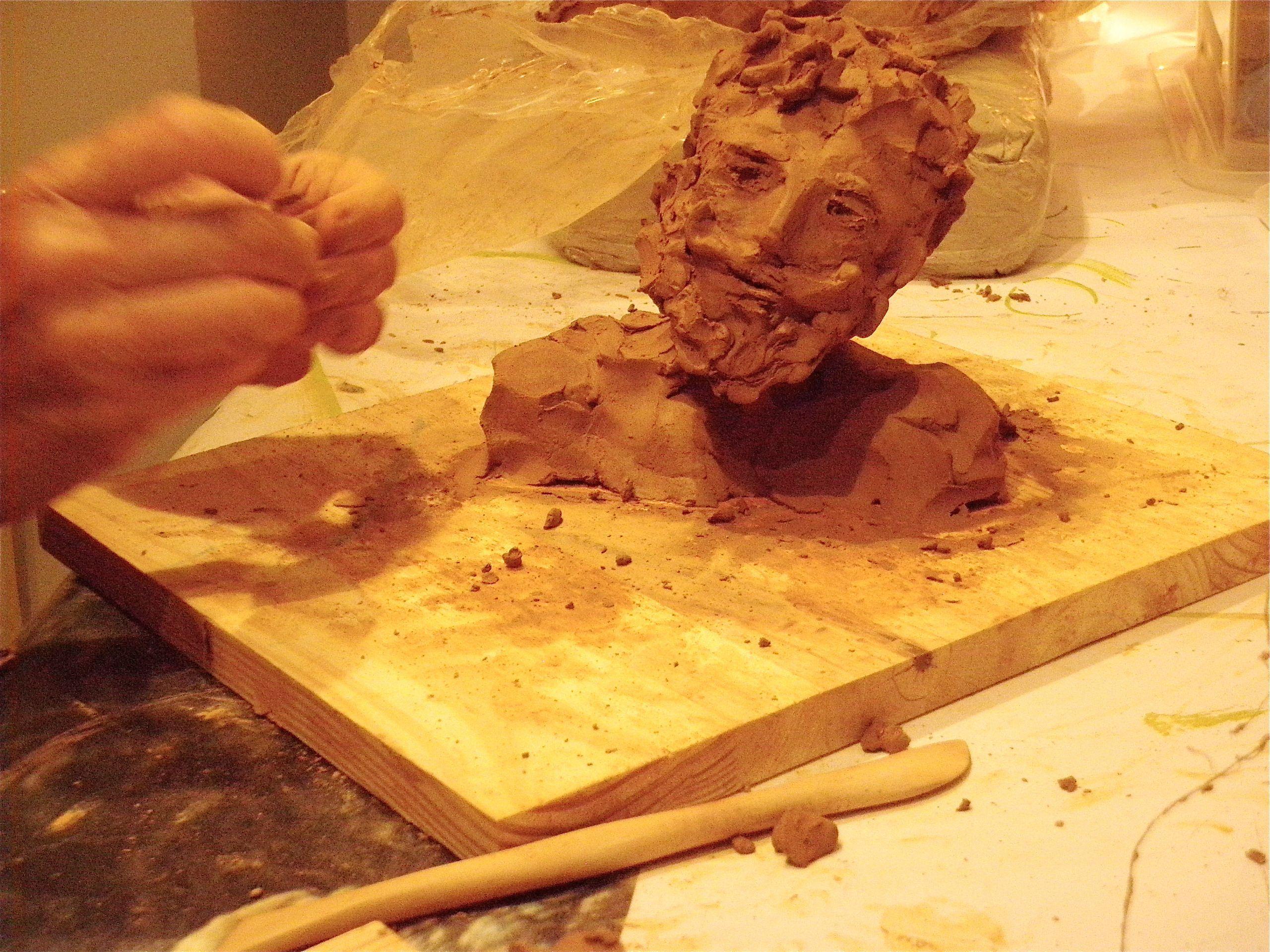 Découverte de la sculpture