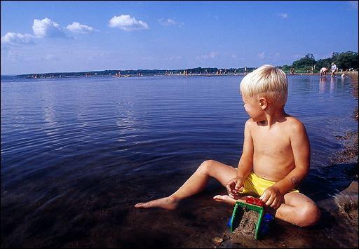 Swimming in the surroundings of Hässleholm