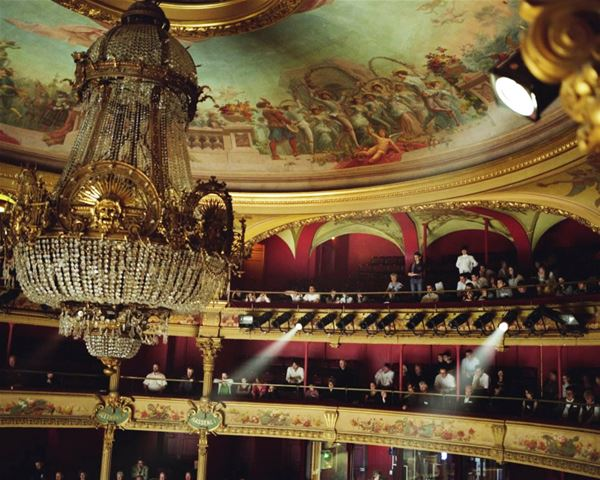 "French guided tour ""Opéra Comédie"""