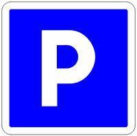 Крытая парковка Parking du Centre (максимальная высота 1,90 м)