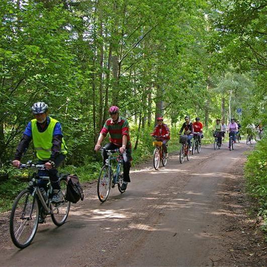 Cycling in Vetlanda
