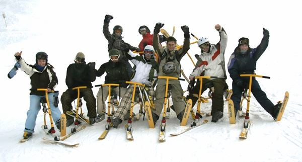 Snowbike Course 2 hours