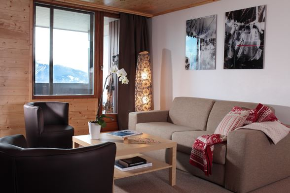 RESIDENCE BELLEDONNE : Appartement 6/7 personnes