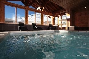 Residence ski-in ski-out / LE CHALET DU MONT VALLON SPA RESORT (4,5 Snowflakes