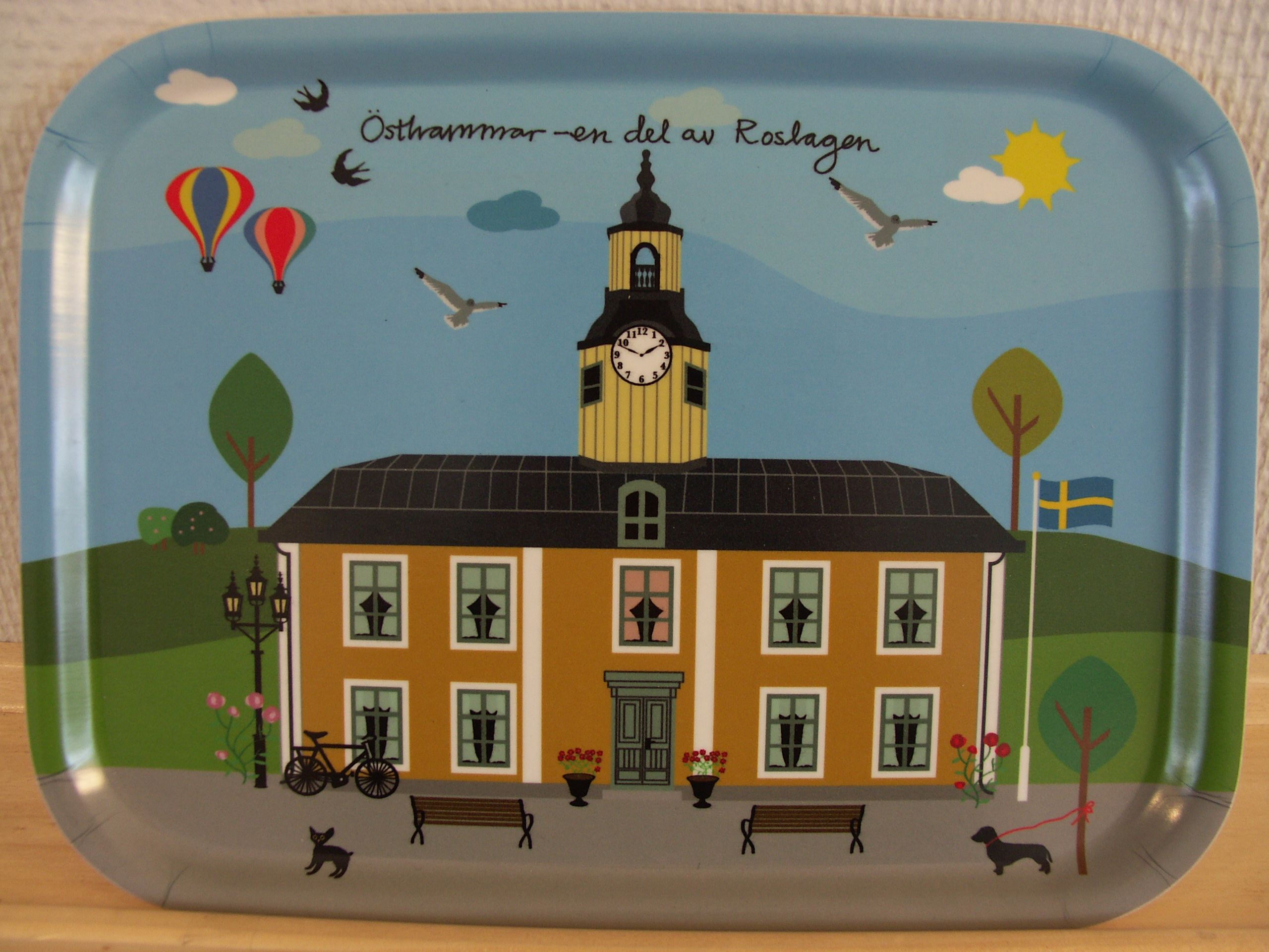 Tray Östhammar Town Hall