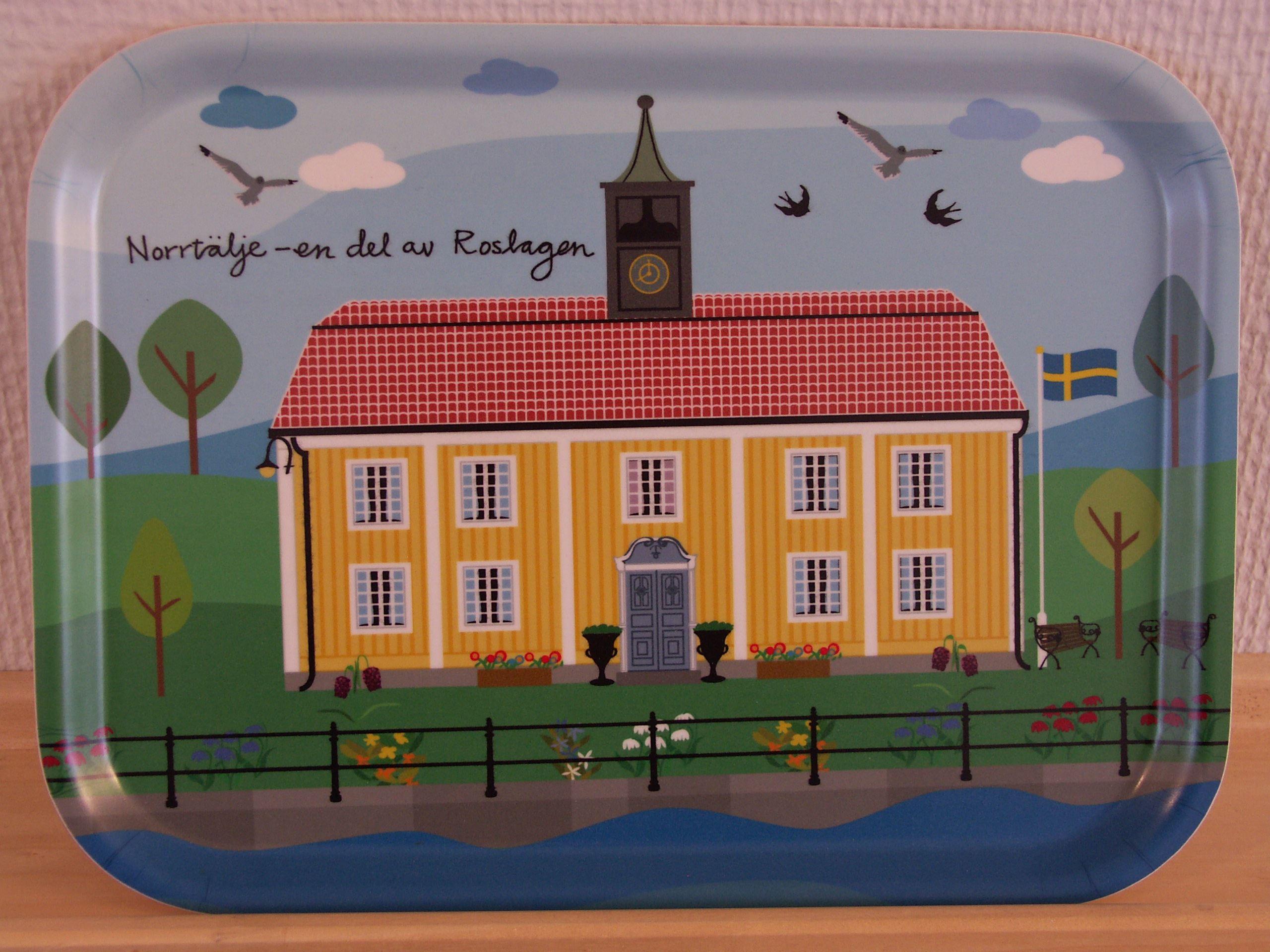 Tray Norrtälje Town hall