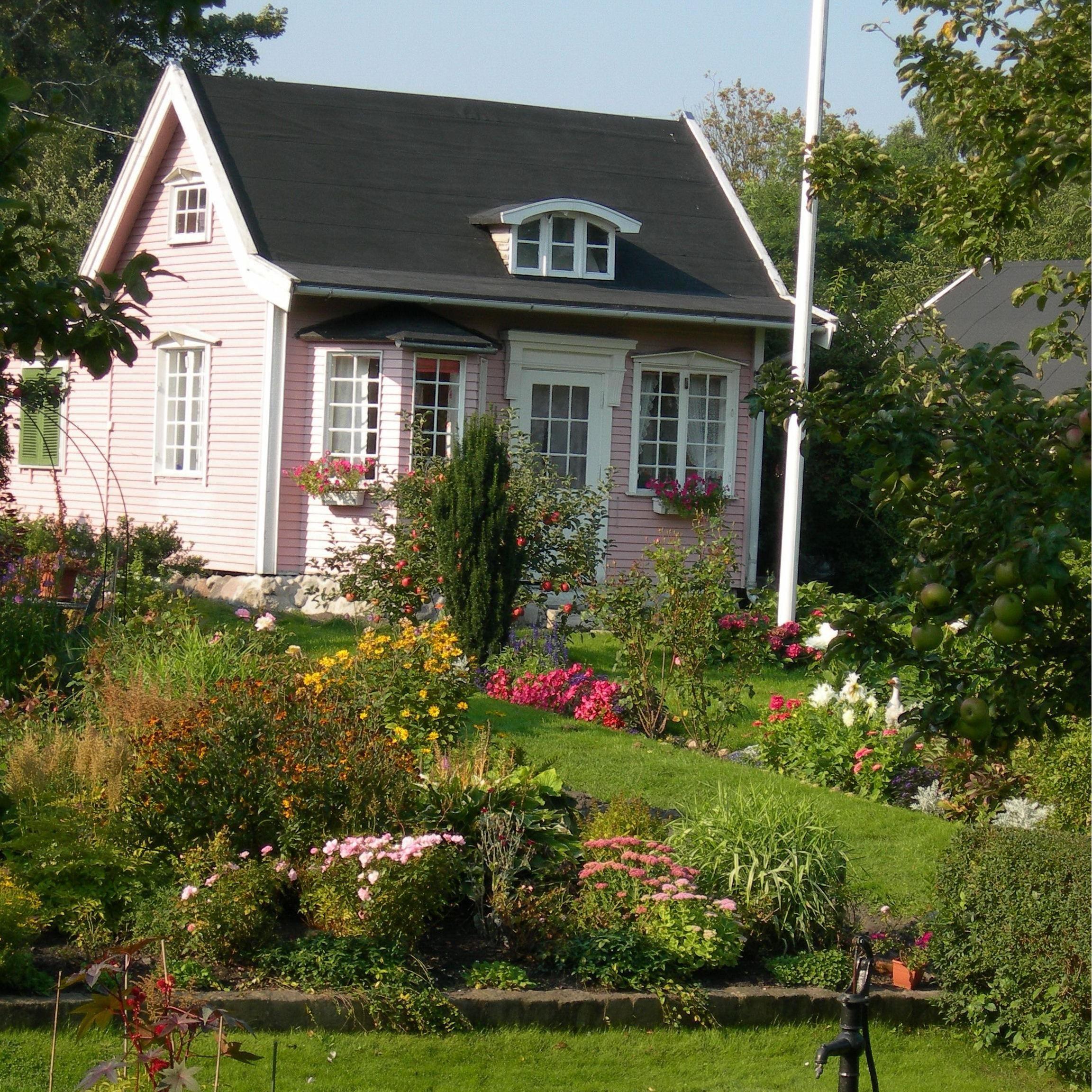 Foto: Turistbyrån Landskrona - Ven, Citadellkolonierna - Allotment gardens