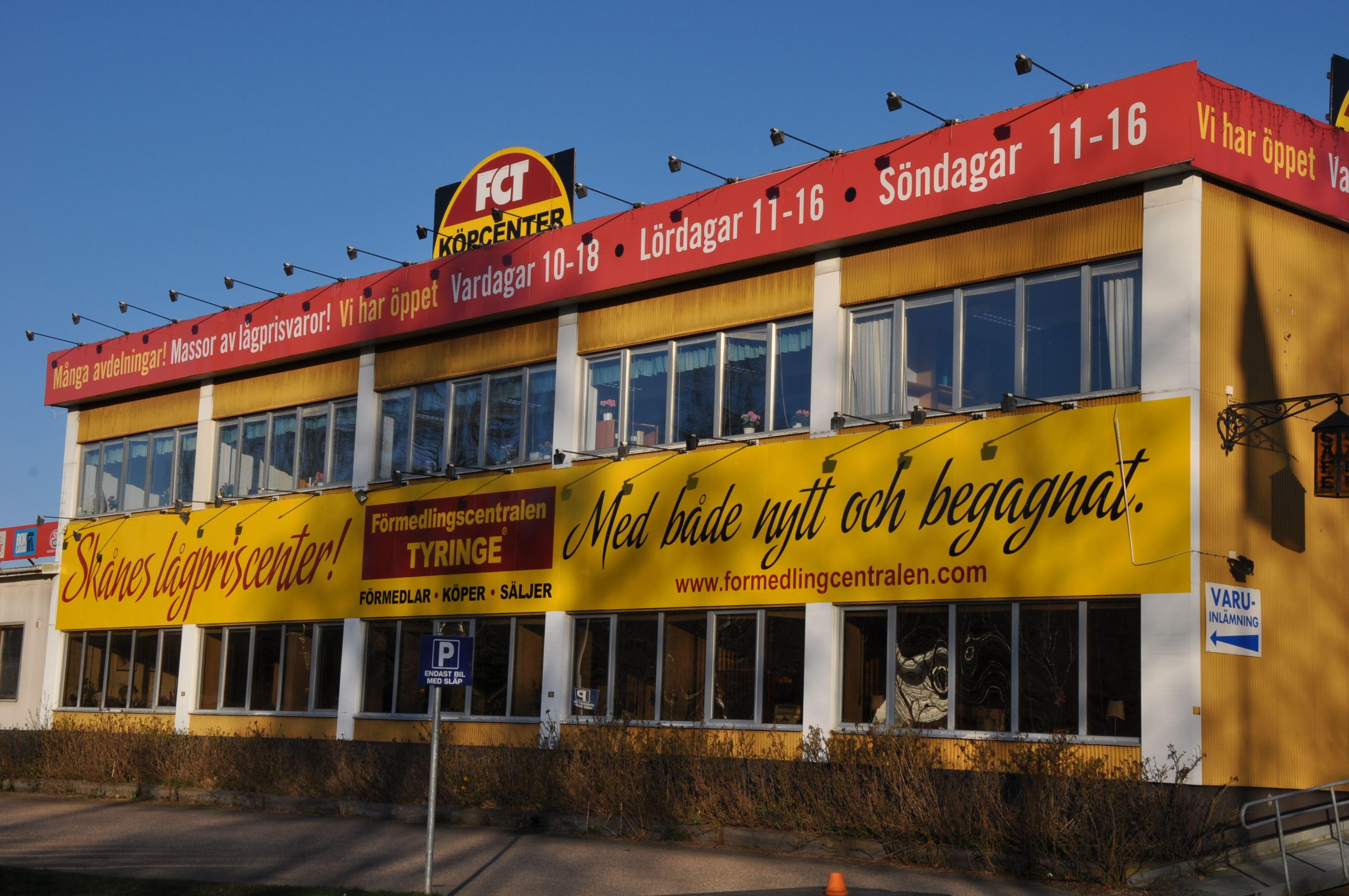 FCT Köpcenter Tyringe - Skånes Lågpriscenter