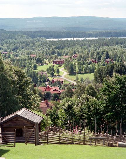 Dössberget´s Open-air museum with Stadigsstugan
