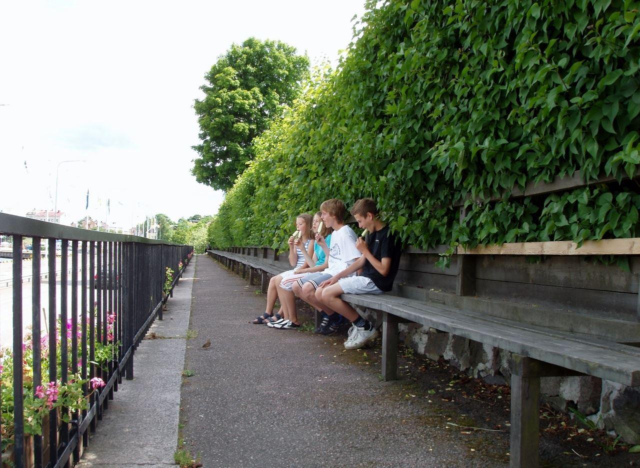 Långa Soffan (the Long Bench)