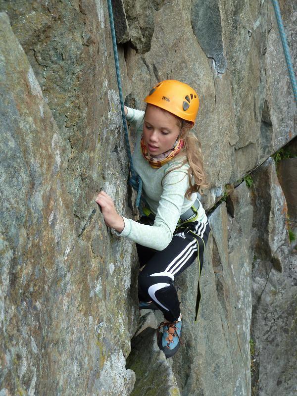 Climbing in Årefjällen