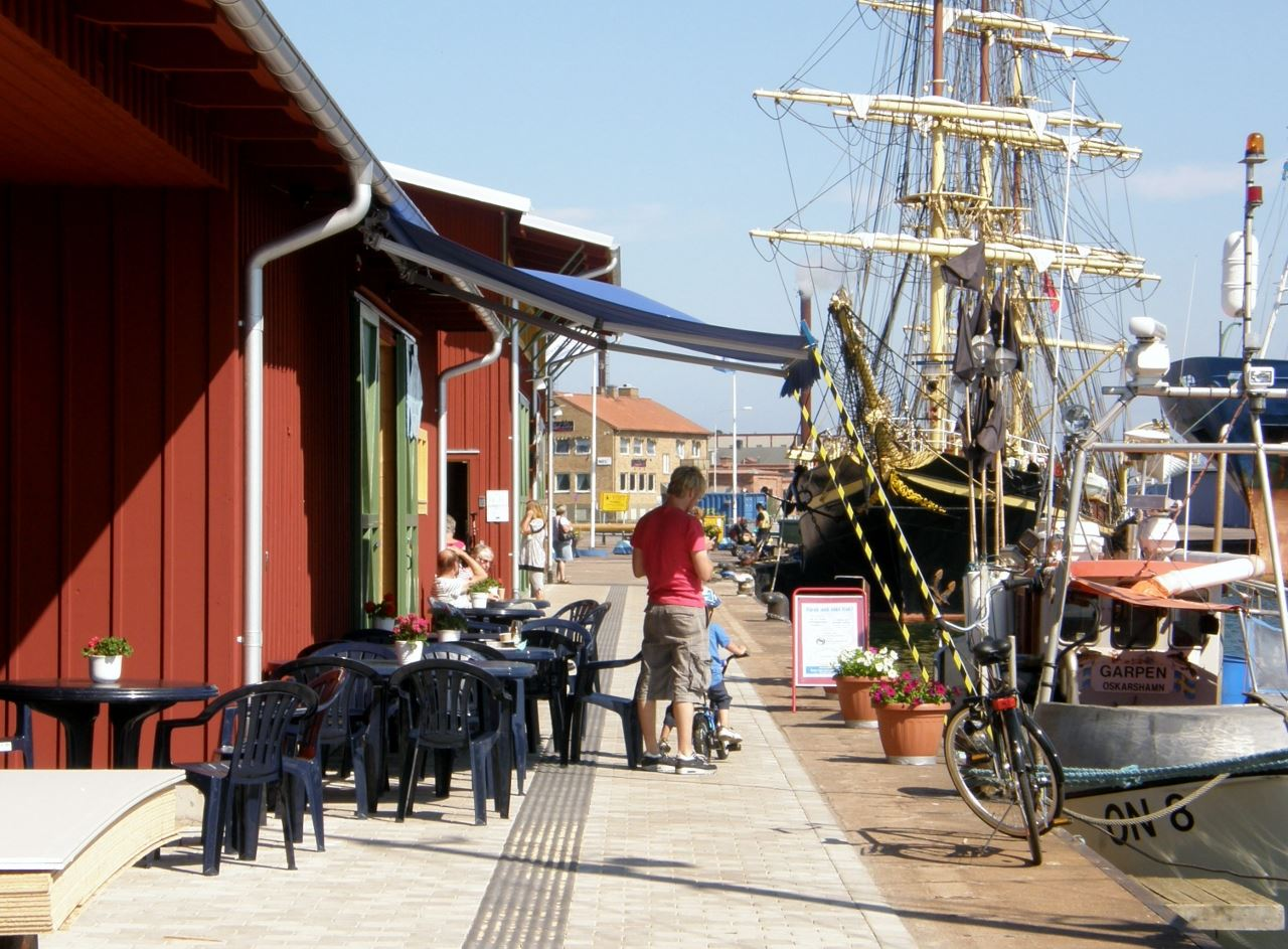 Boat and Machinery Museum in Oskarshamn