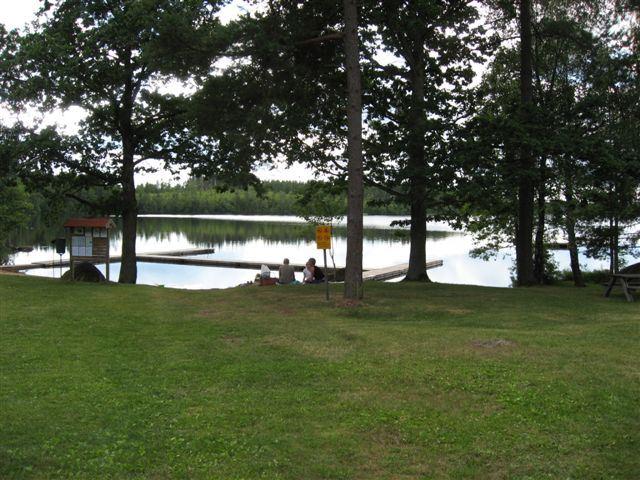 Badplats i Yxnanäs - Djupasjön