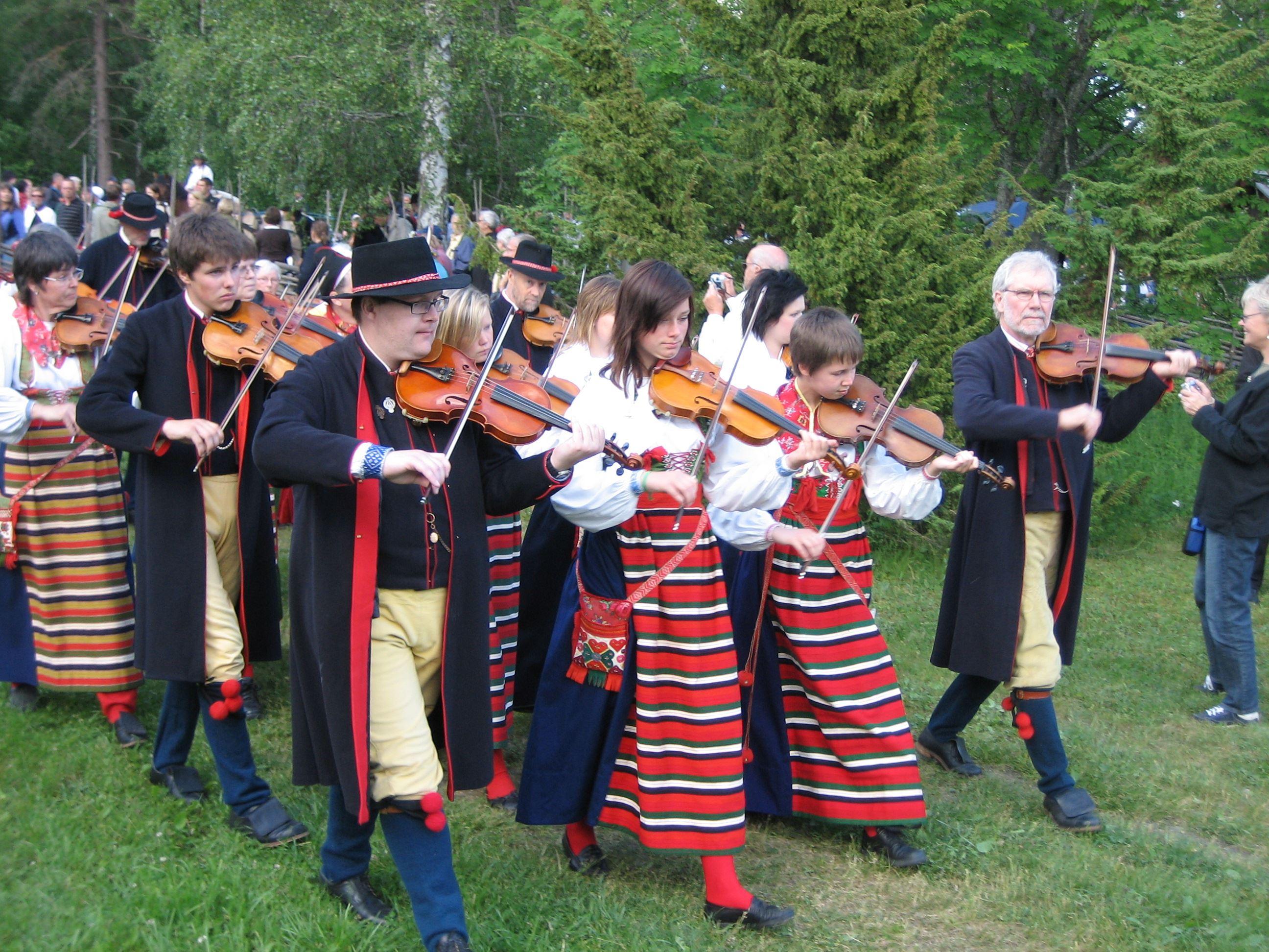 Midsummer Celebration, Rättviks Gammelgård