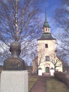 Luciahögtid i Våmhus kyrka