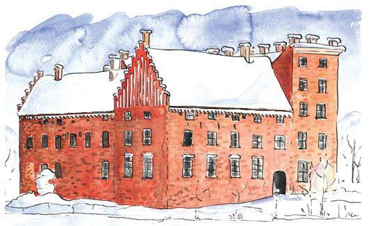 Jul på Svaneholms slott