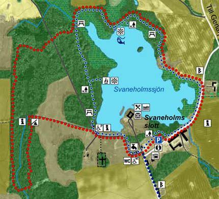 Vandra vid Svaneholm