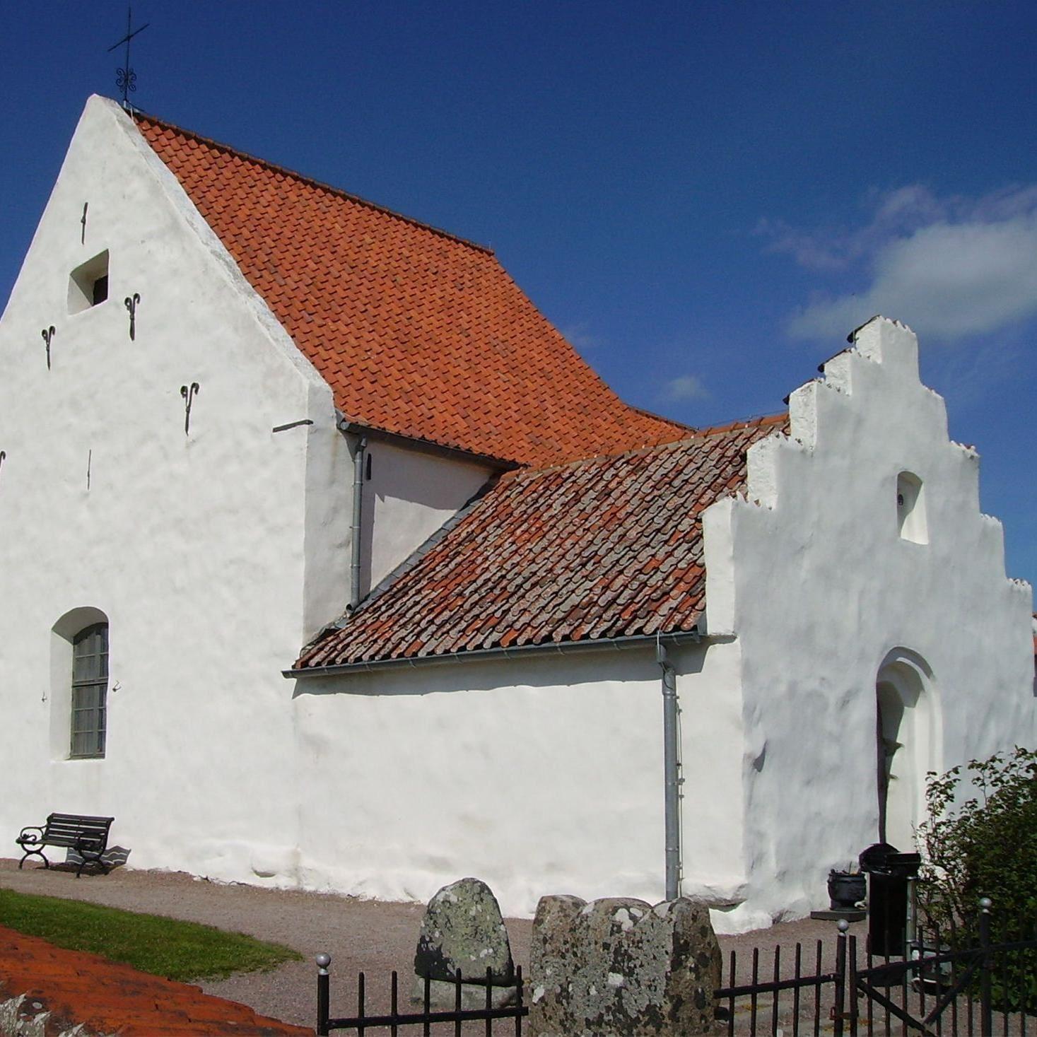 Foto: Turistbyrån Landskrona - Ven, S:t Ibbs gamla kyrka-Ven