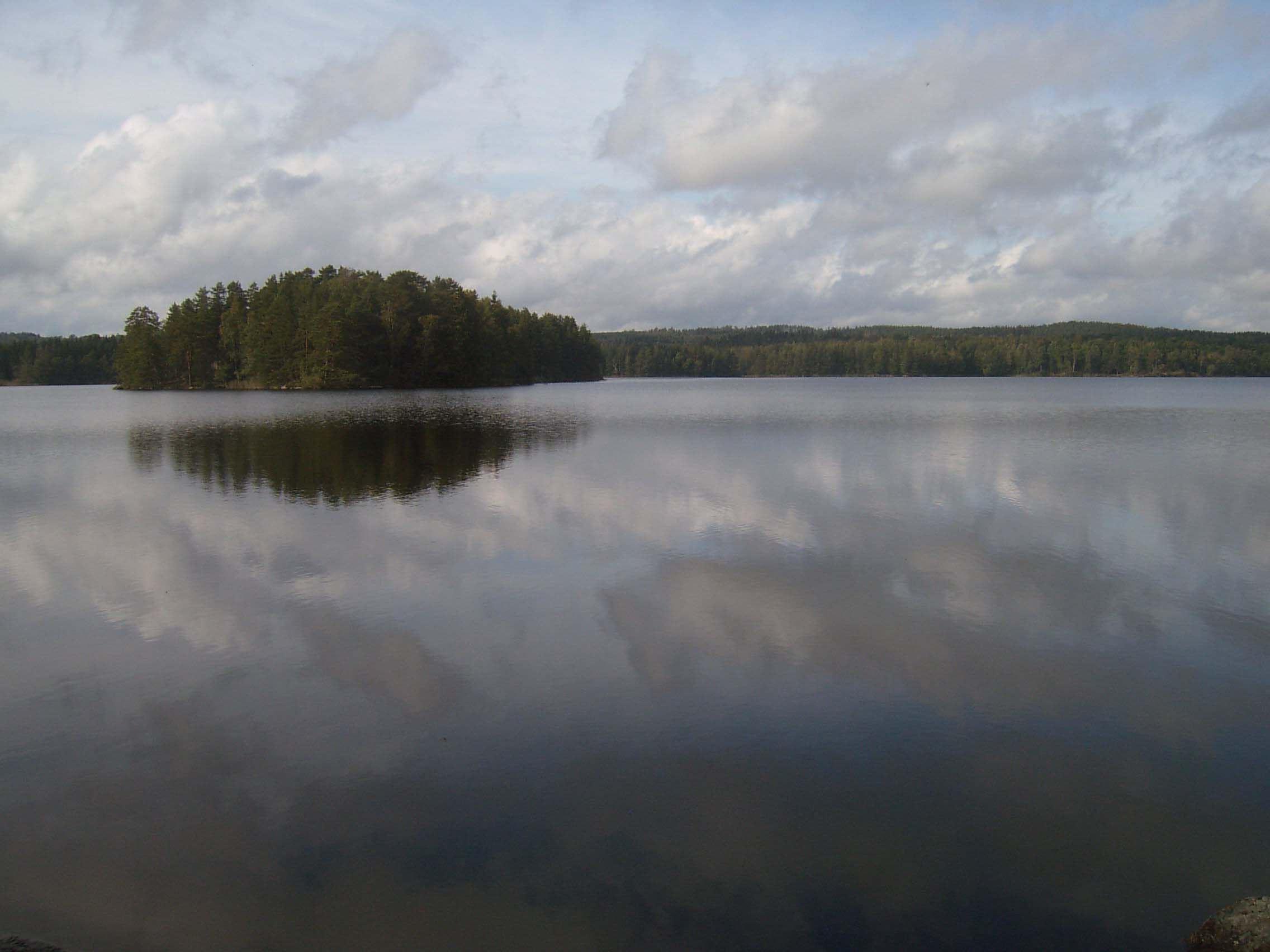 C-J Månsson, Virserumssjön, Virserum